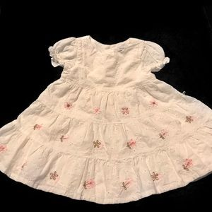 Baby Gap White Lace Dress 3-6 Months